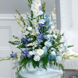 Gracious Glory Shades of Blue