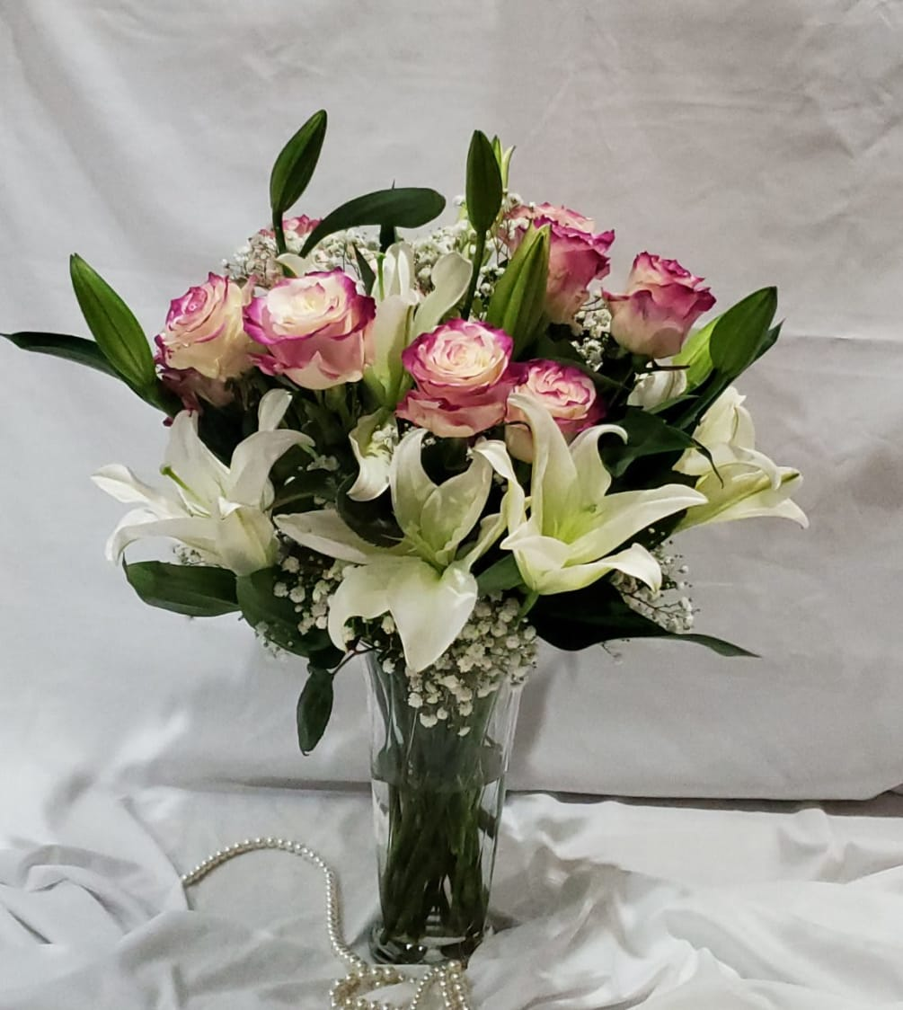 With All My Heart By Plum Floral Arrangements