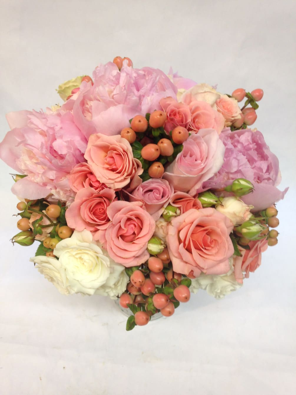 Pinkberry Bridal Bouquet By Flowers Of The Valley