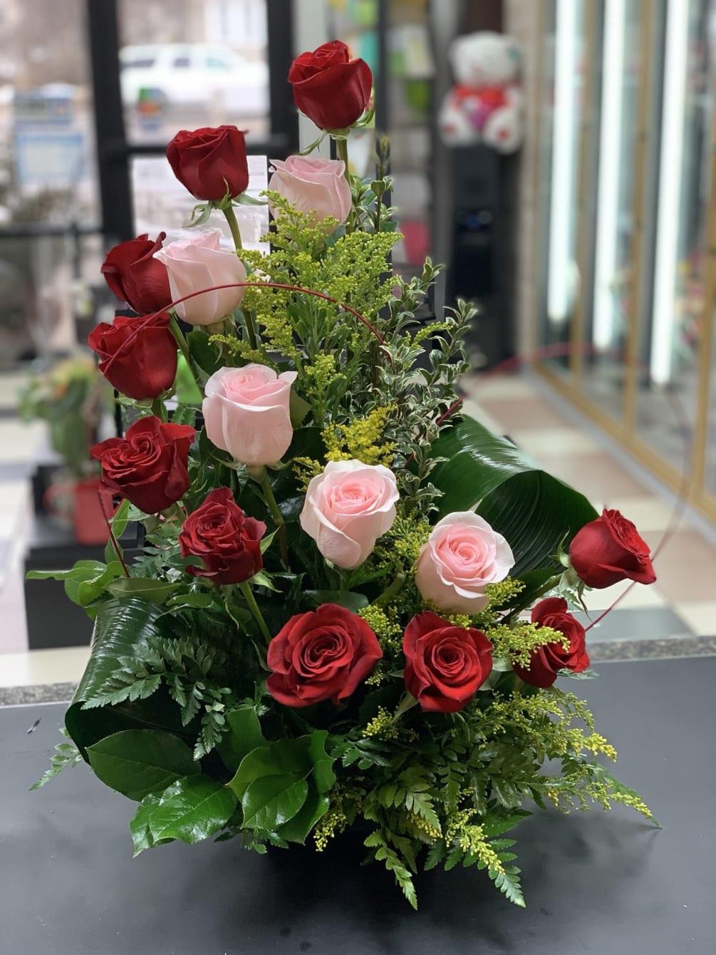 Rose Romance By Rose Shop Mn