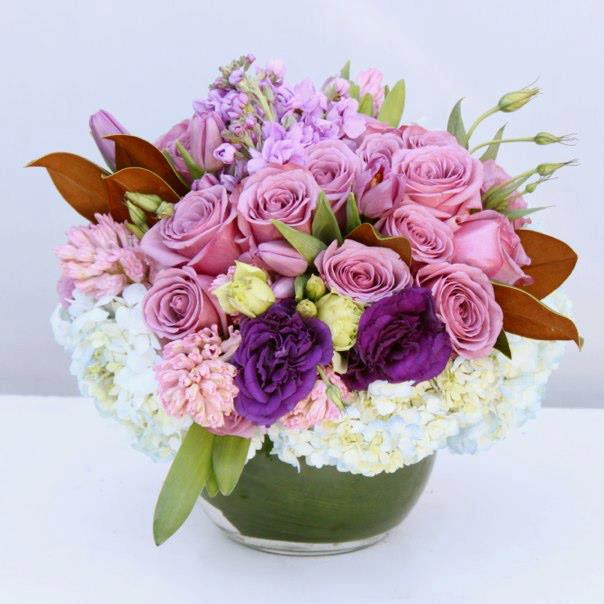 Large Lavender Bowl - Cedar Sinai Florist in West Hollywood, CA |  Cedars-Sinai Florist