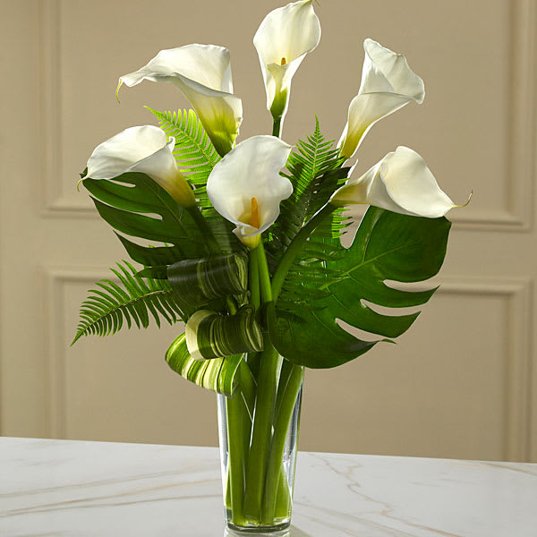 The Ftd Always Adored Calla Lily Bouquet In Monroe Mi Deb S Floral Designs