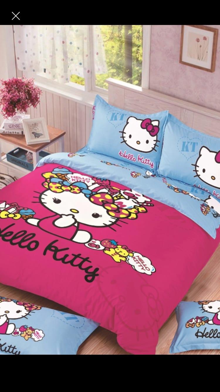 Hello kitty comforter Set in Salinas, CA   Destiny's ...