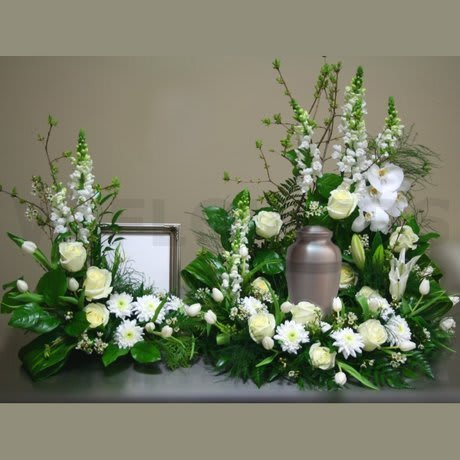 Harmony Photo And Urn Duo By Forever Flowers