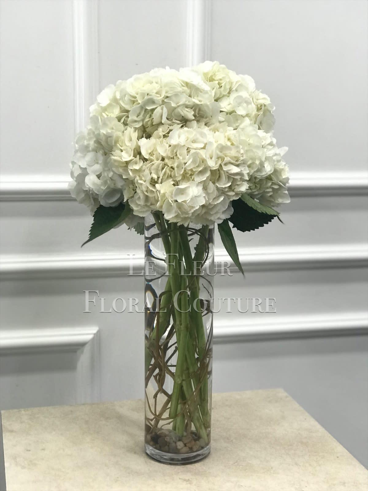 Pure Hydrangea Bouquet By Le Fleur Floral Couture,Kitchen Garden Window Ideas
