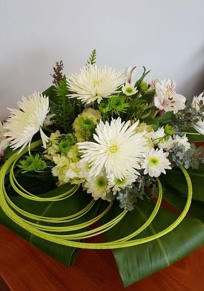 Swirl Floral Arrangement In Olympia Wa Specialty Floral Design