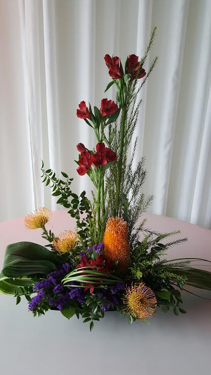 Tropical Bliss Flower Arrangement In Olympia Wa Specialty Floral