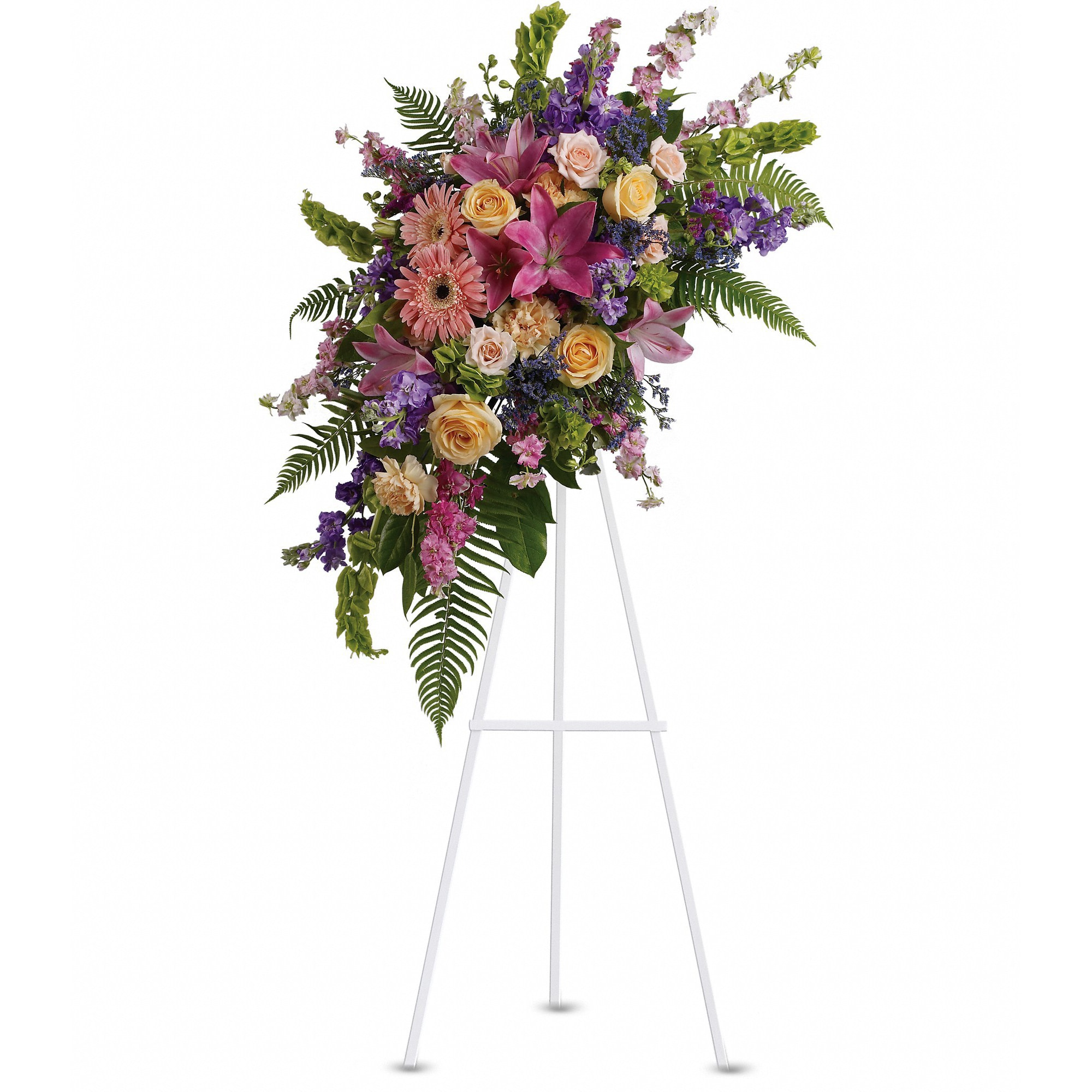Heavenly Grace Spray By Teleflora In Maryville Mo Maryville Florists