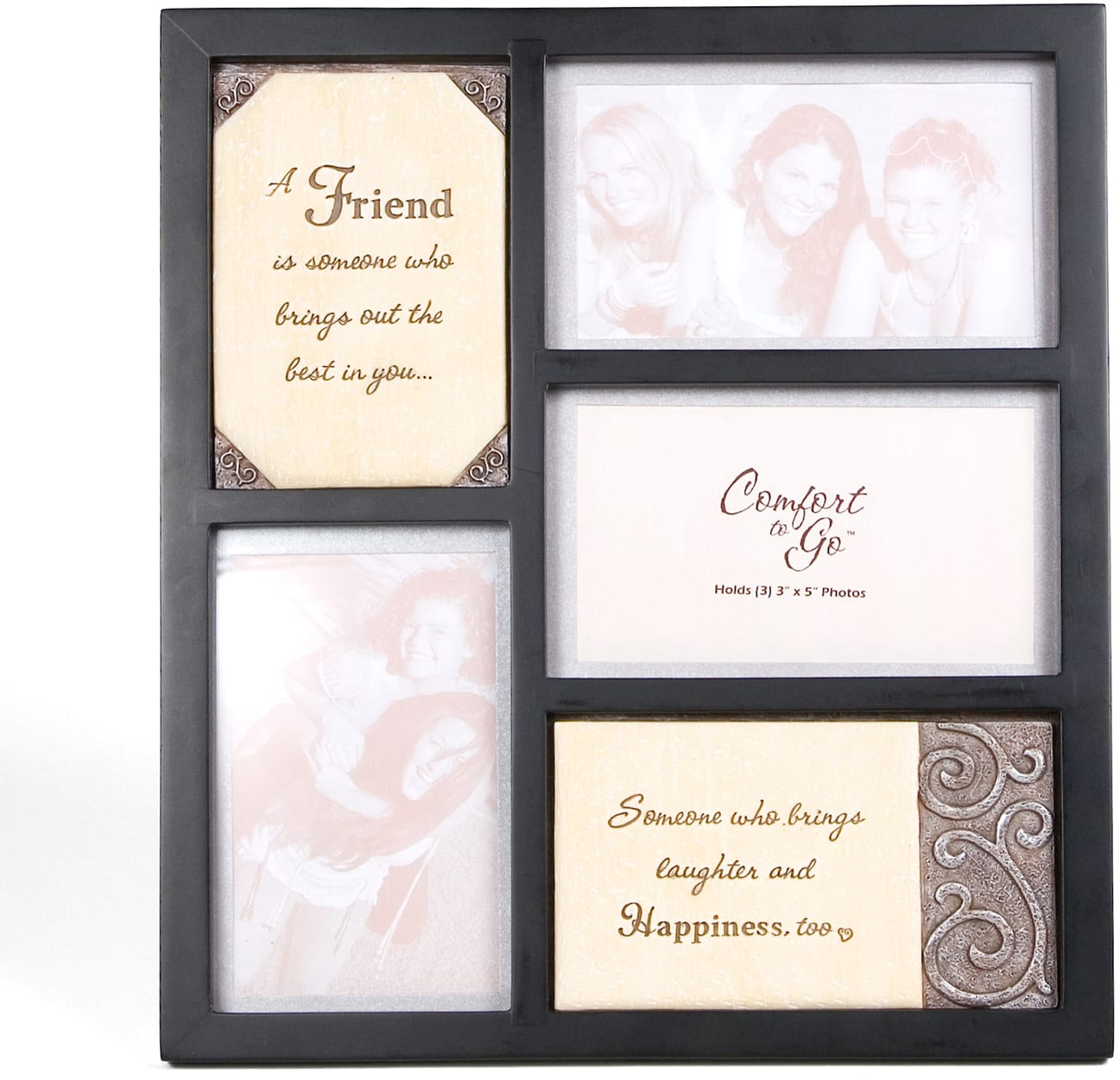 Friend 10 5 Collage Frame W Plaques