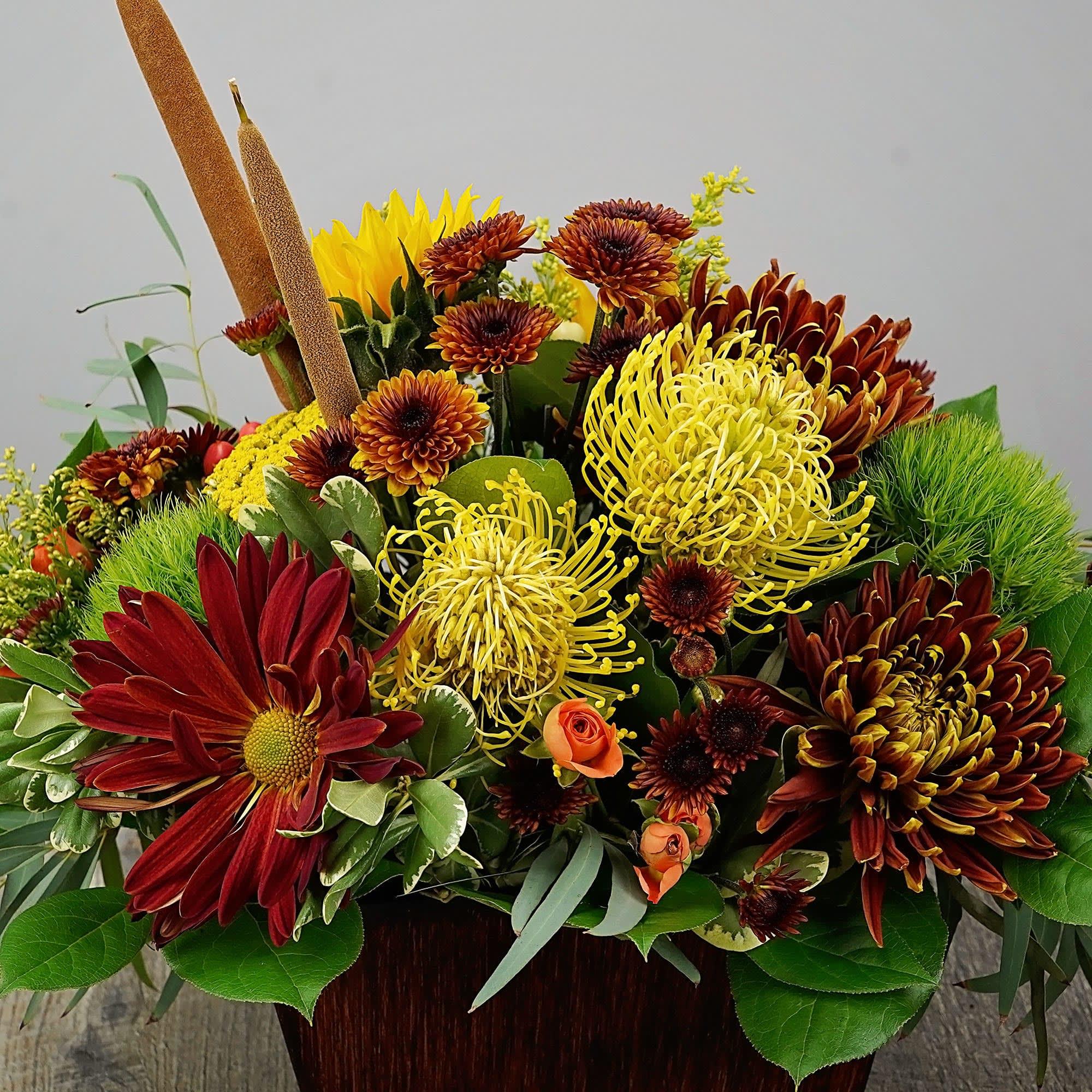 Rathbone S Autumn Rush By Rathbone S Flair Flowers