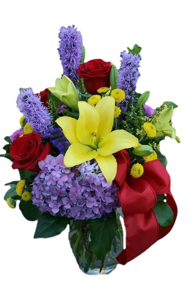Garden Vista Flower Bouquet In Riverside Ca Willow Branch Florist Of Riverside