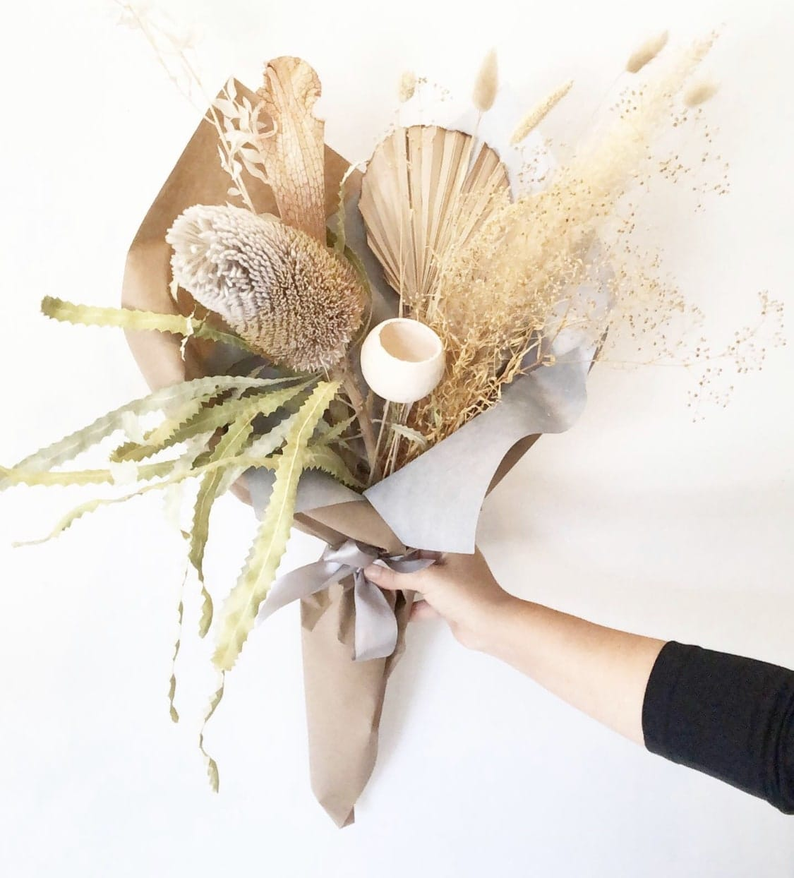 Dried Flowers Bouquet By Aquarela Gifts Flowers