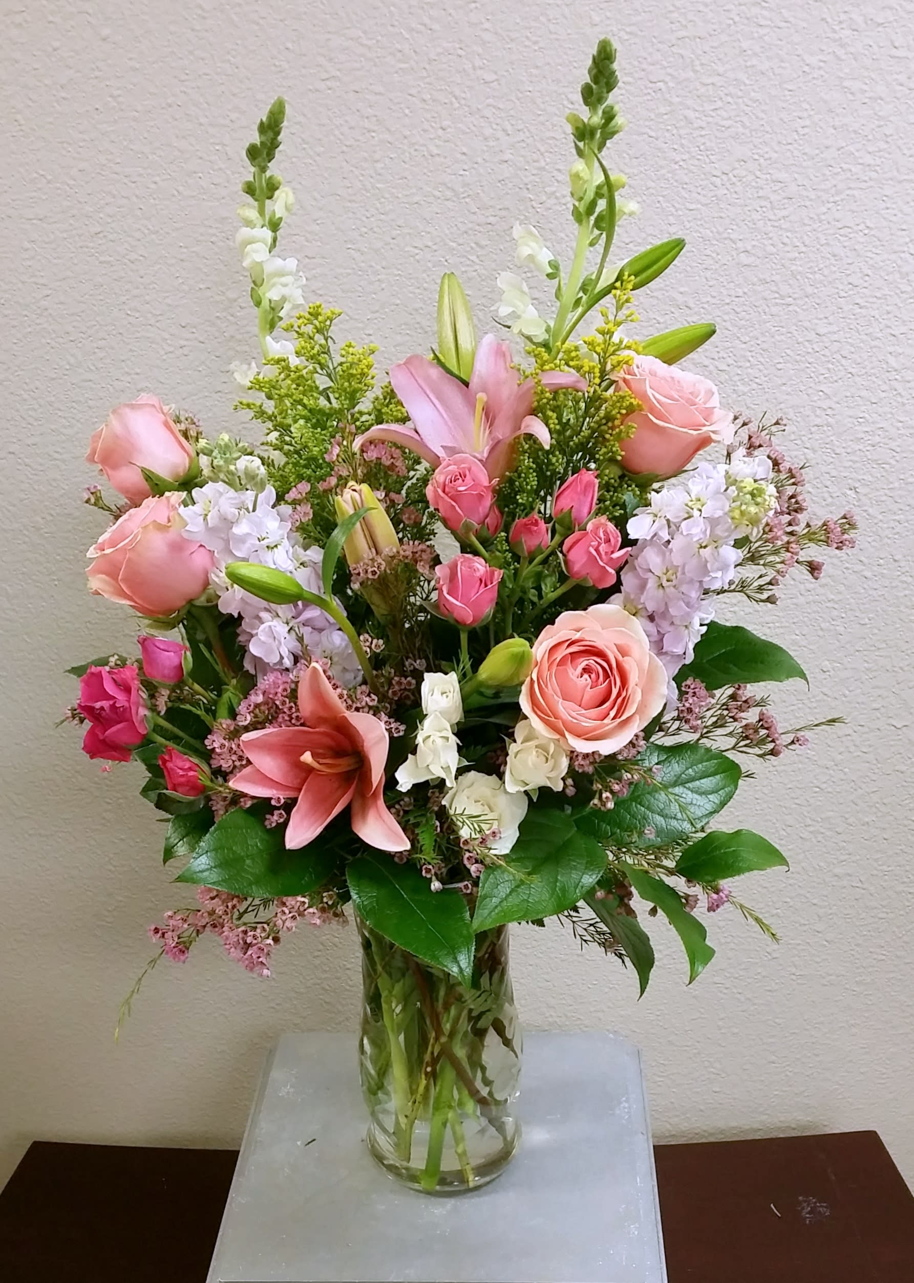 Pastels Of Spring Bouquet By Signature Flowers