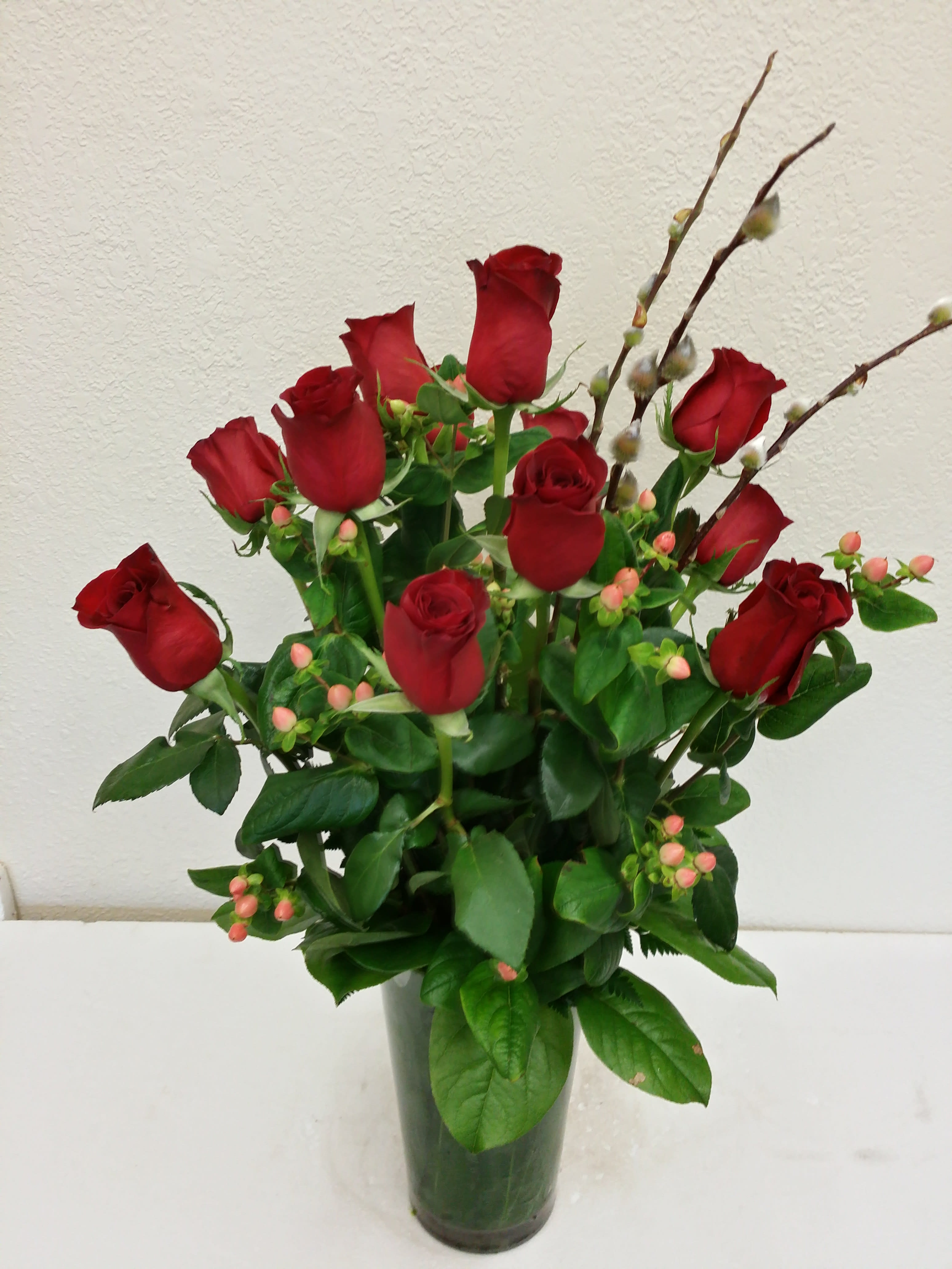 Traditional Dozen Long Stem Red Roses By Brittany Flowers Of Kirkland