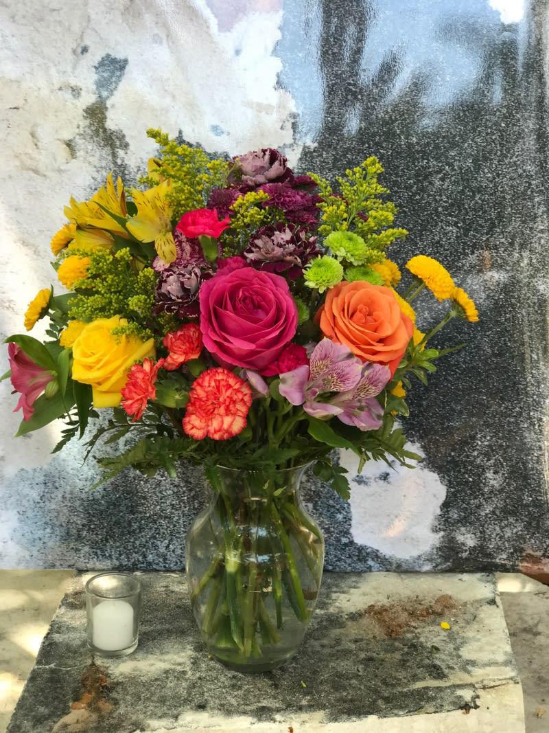 Confetti In Fort Lauderdale Fl Victoria Park Flower Studio