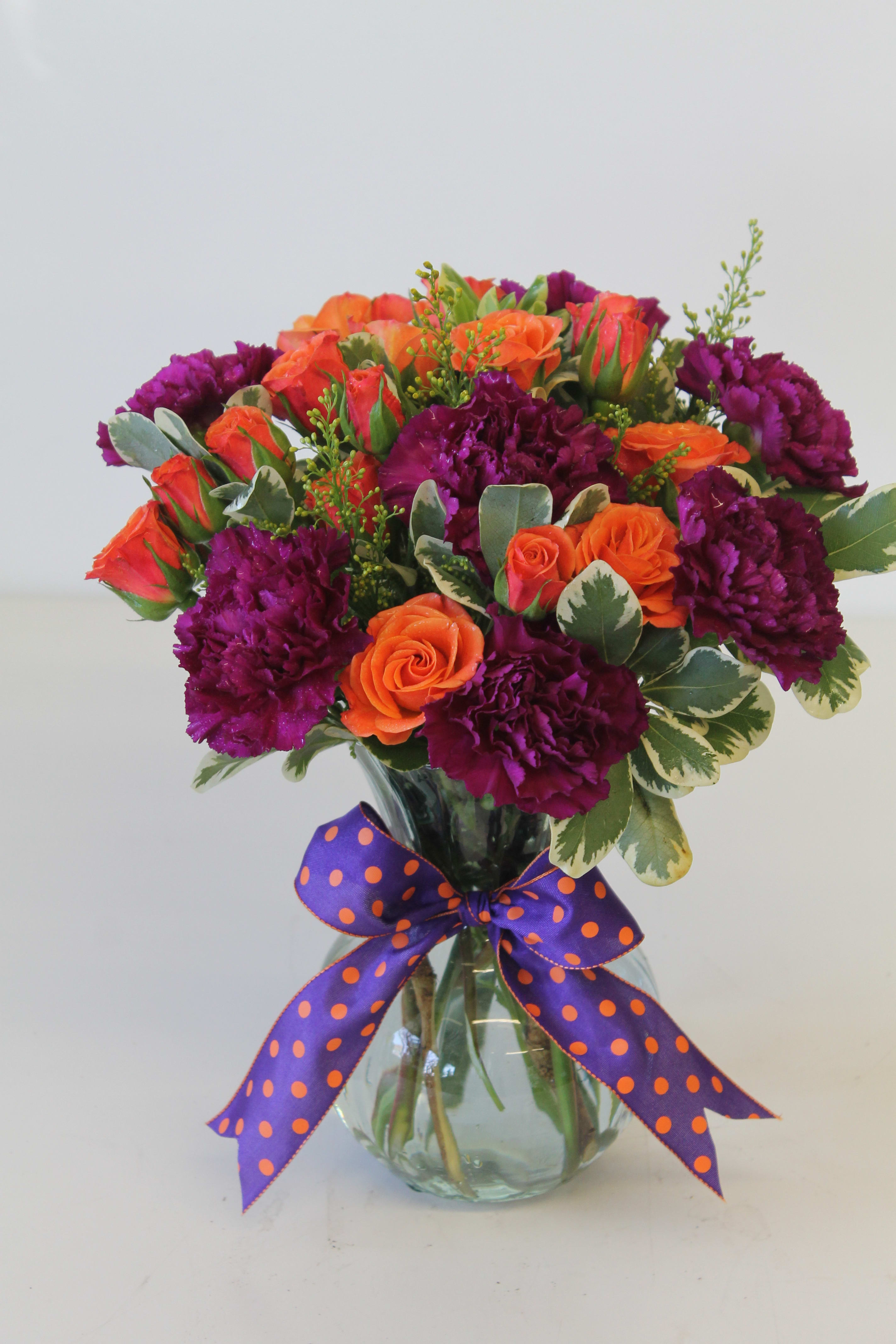 Bright Fall Colors By The Flower Lover