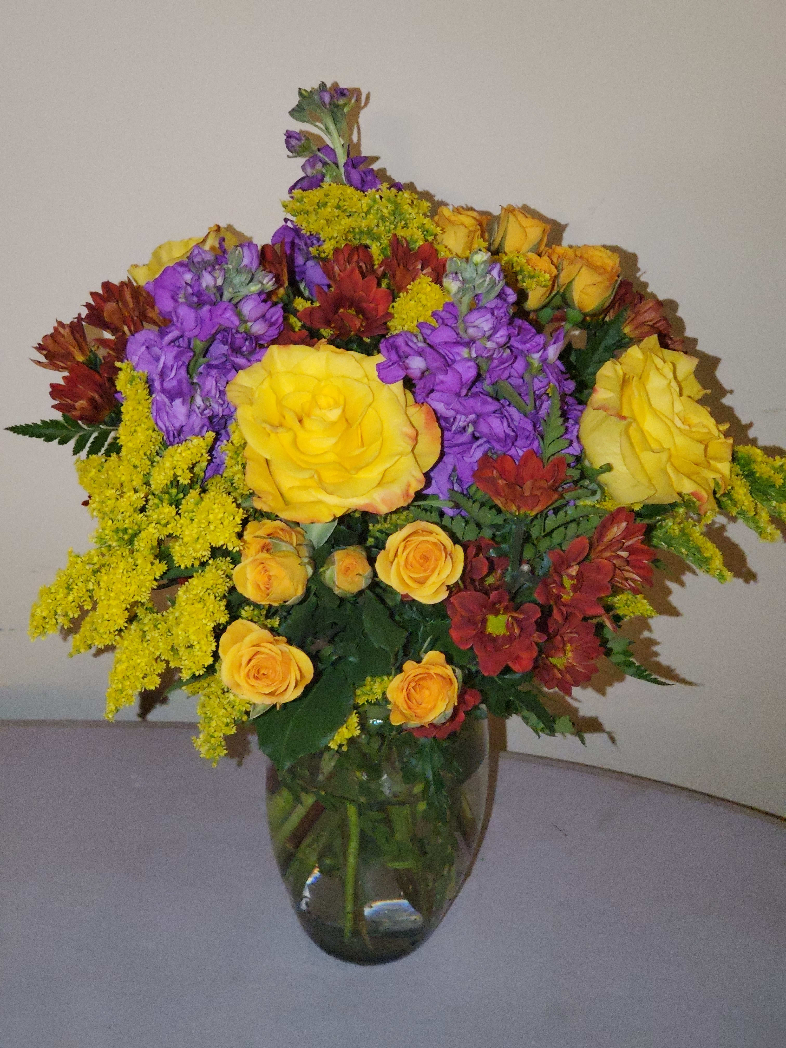 Fall Is Here By Flowers By Manny