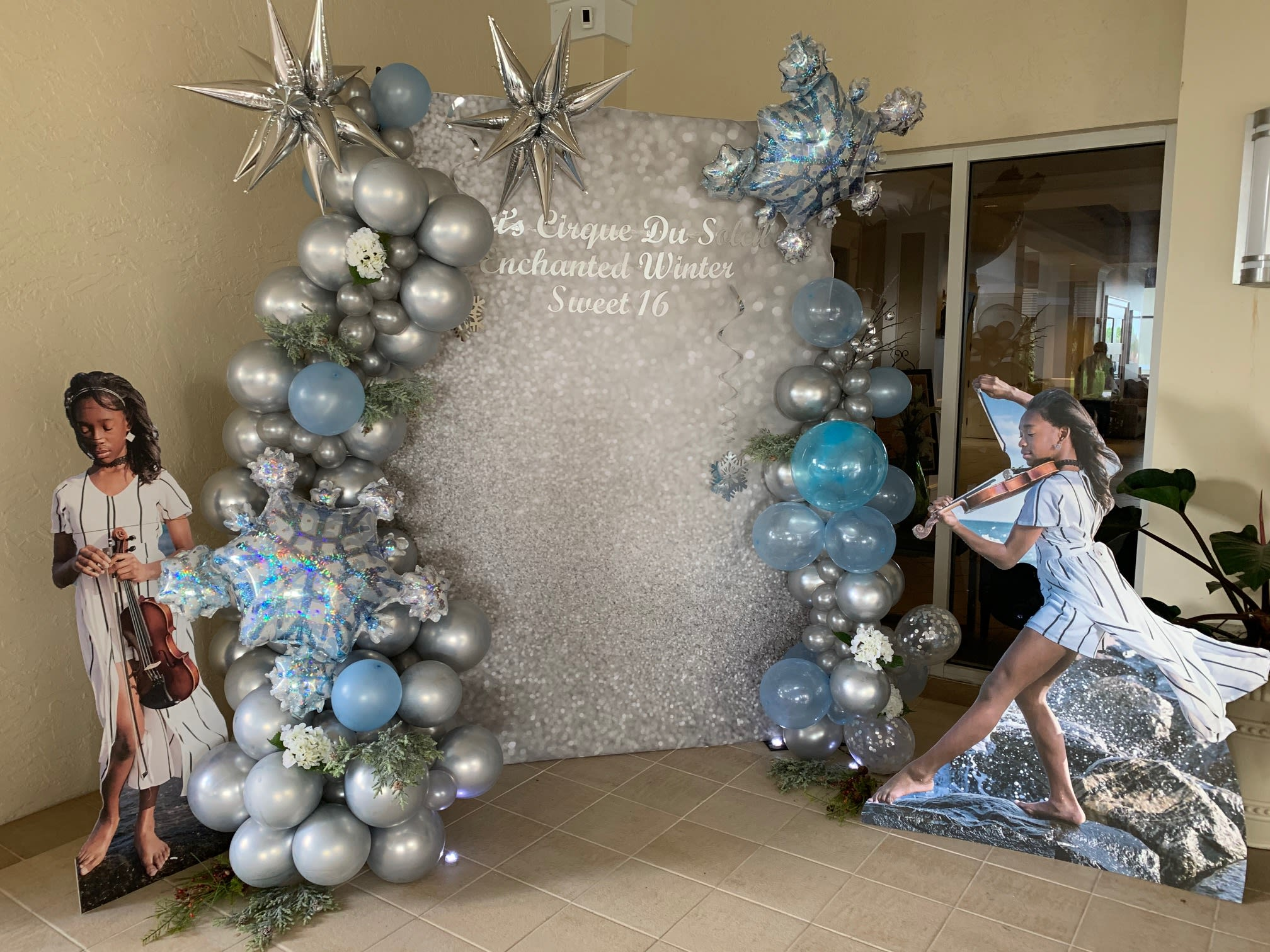 Package Deal Of Balloon Garland And Backdrop In Hollywood Fl Event Designing By Ella
