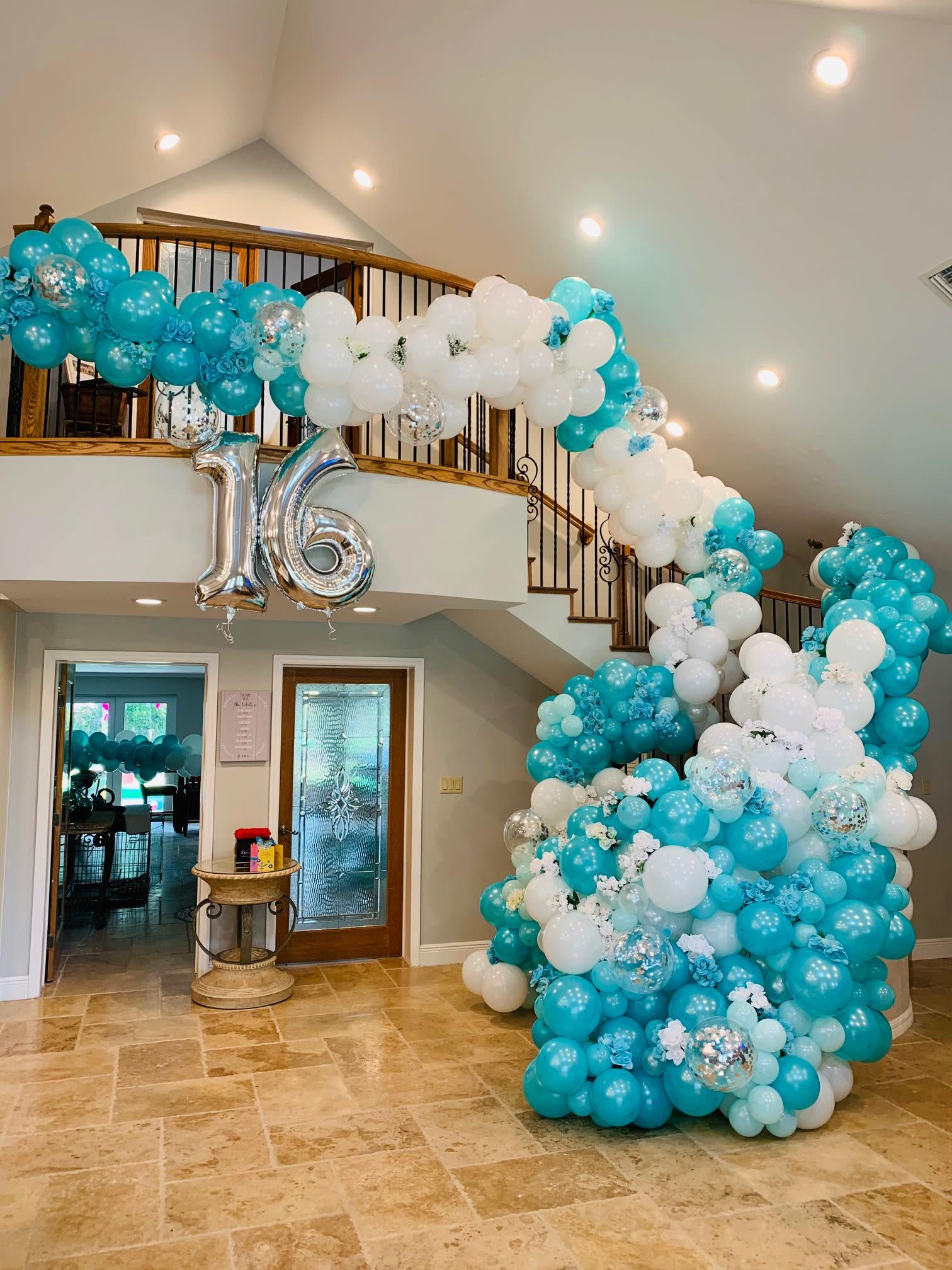 Tiffany Blue Cascade In Hollywood Fl Event Designing By Ella