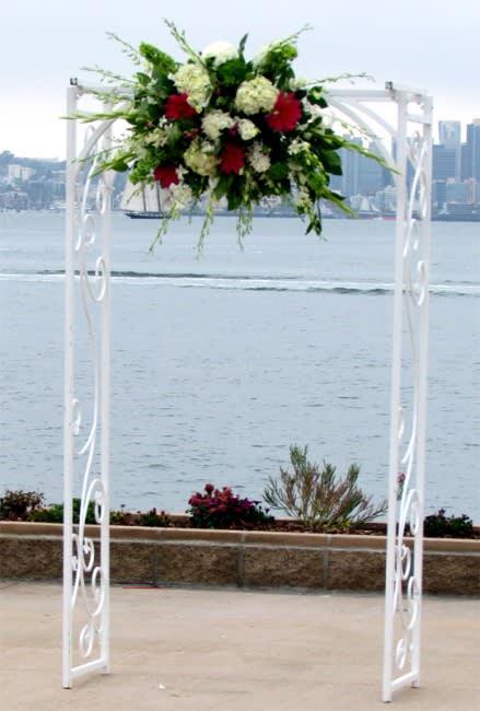 Wedding Arch Flower Arrangement By House Of Stemms