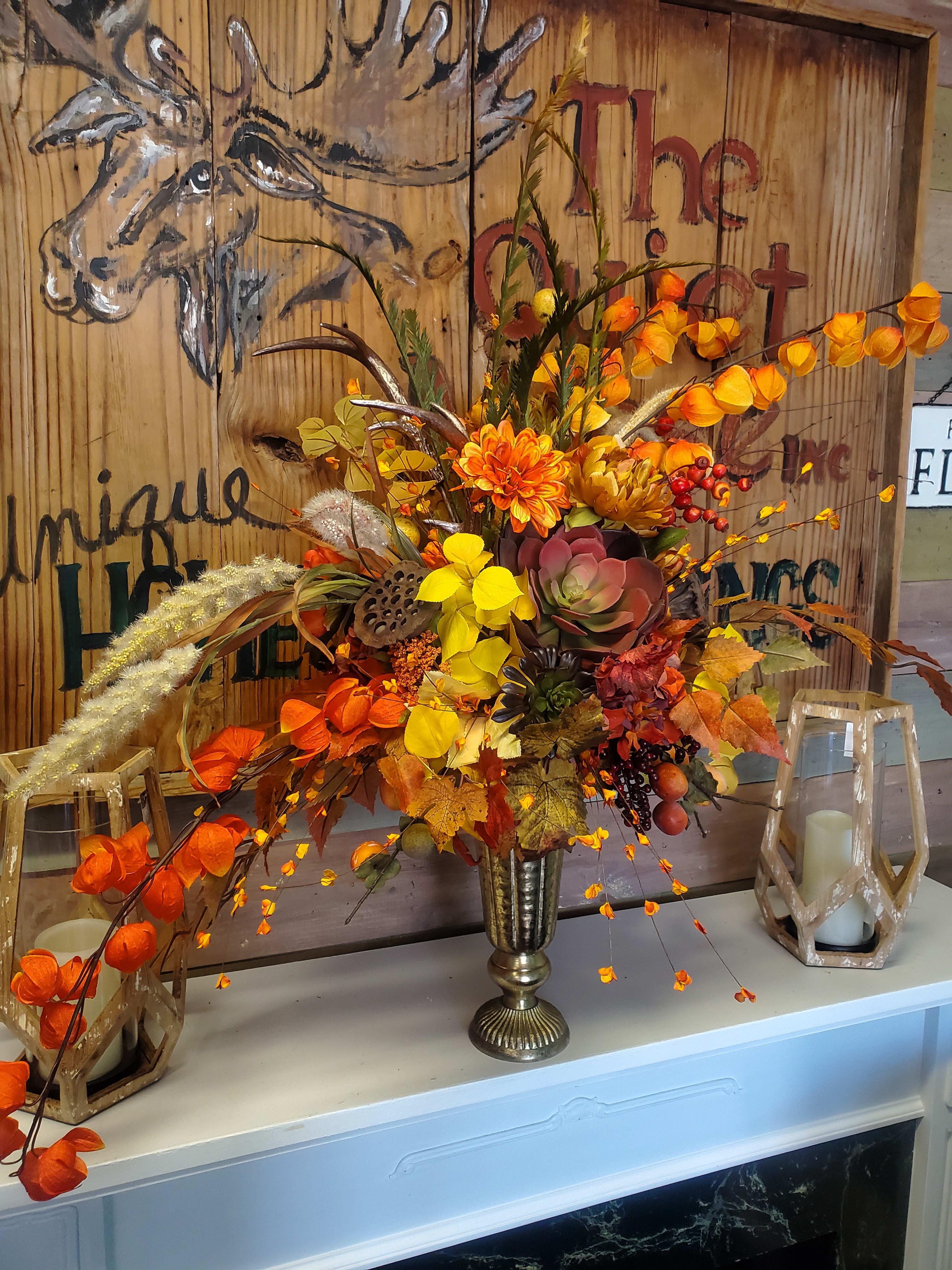Custom Silk Arrangements In Castle Rock Co Sander Ranch Flowers