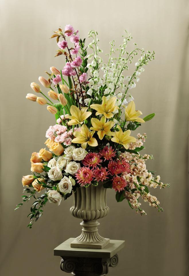 Declaration Altar Arrangement In Anaheim Ca Visser S Florist Greenhouses