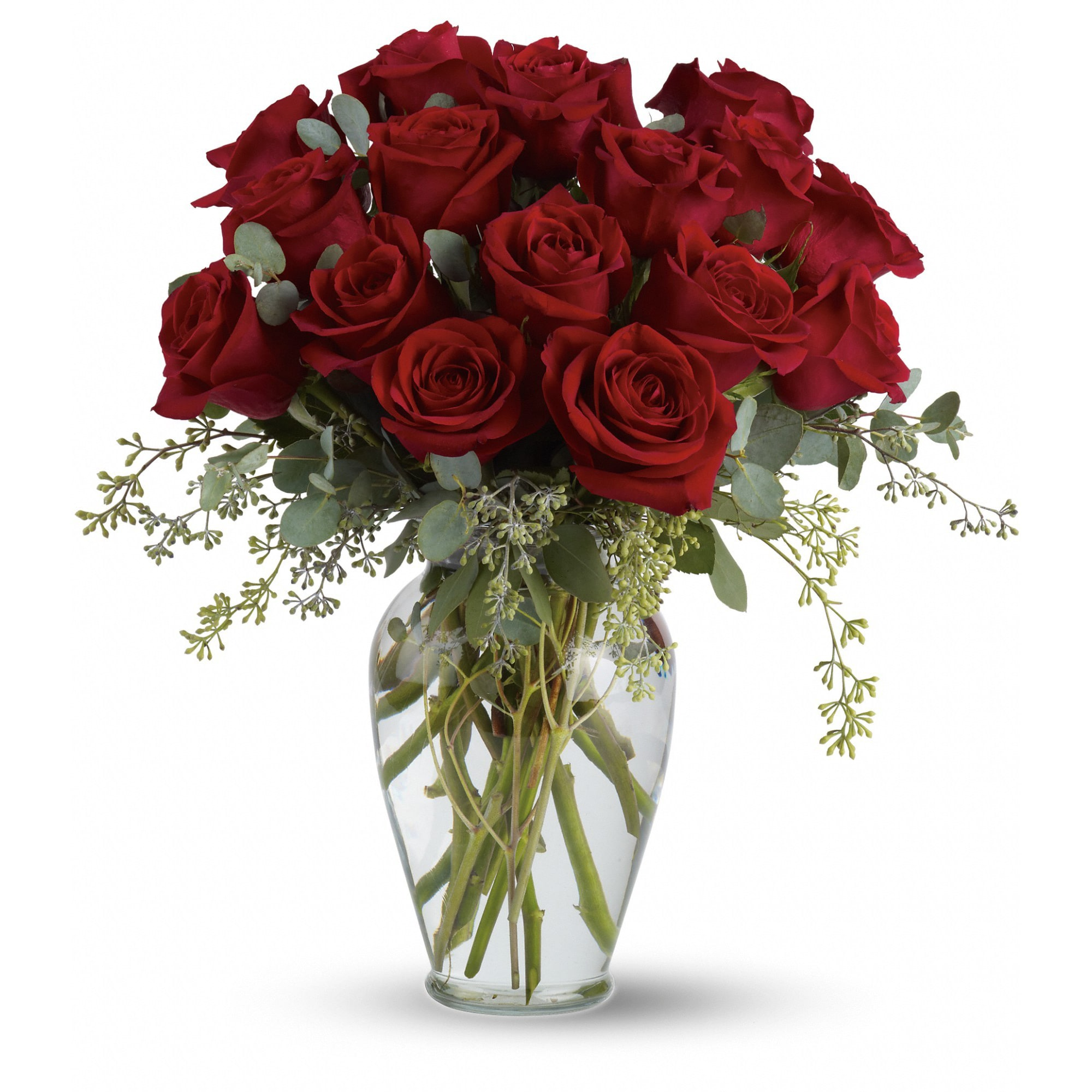 Full Heart 16 Premium Red Roses By Teleflora In Wickenburg Az Crissman S Flower Barn