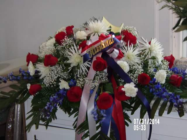 Military Tribute Casket Spray By Claudette S Flowers And Gifts