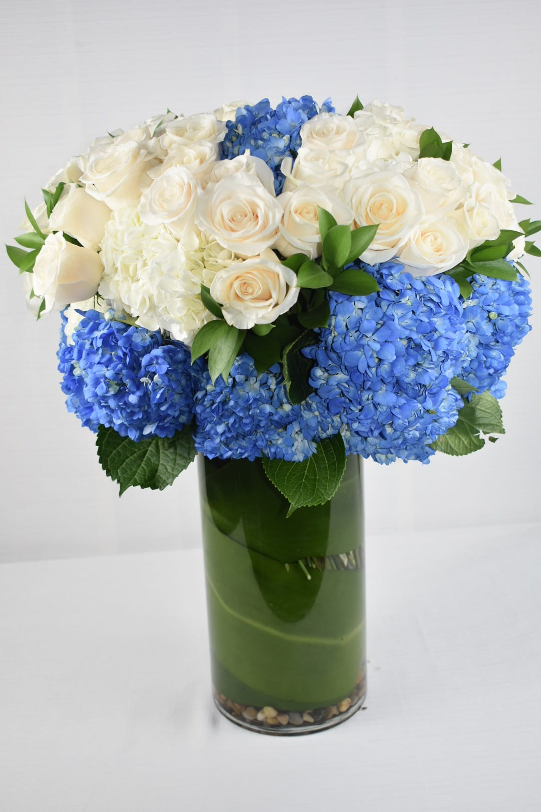 Amazing Blue Hydrangeas By Sebas Flowers