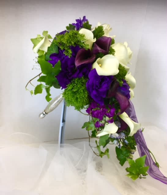 Cascading Wedding Bridal Bouquet By Flowerbell Reno Sparks Florist