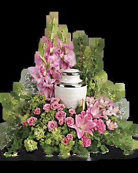 Sacred Solice Urn Arrangement In Kissimmee Fl Kissimmee Florist