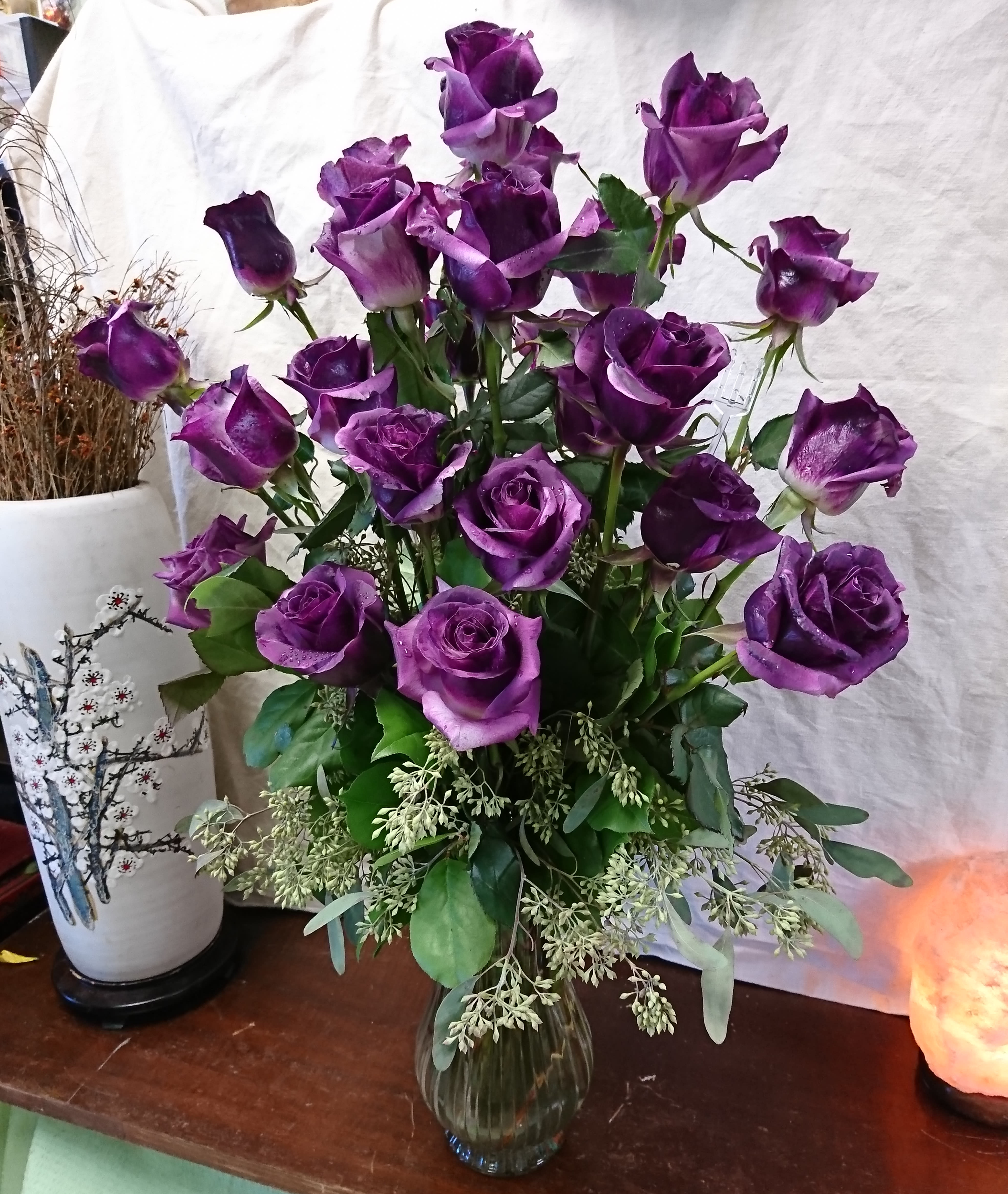 Deeply Violet Rose Bouquet In Orlando Fl Edgewood Flowers