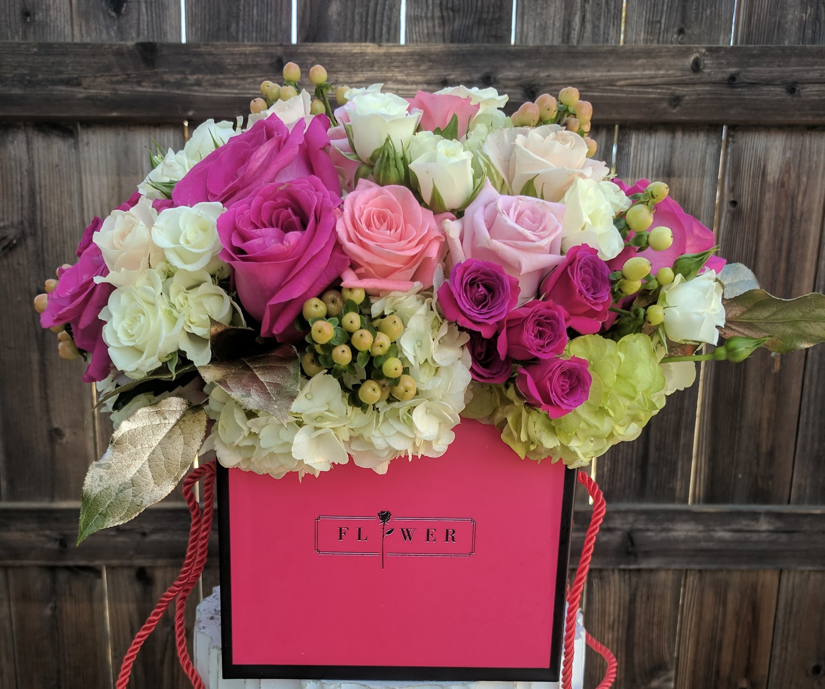 Fabulous Flower Box Let Us Pick The Prettiest One For Your Special Order In Van Nuys Ca Van Nuys Flower Shop