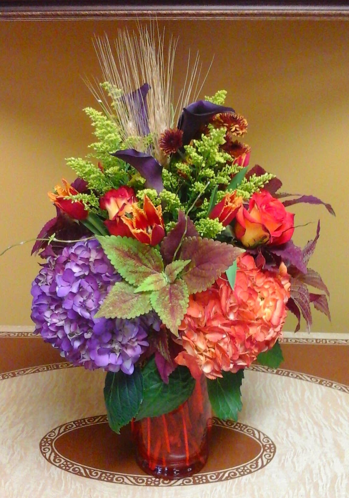 Fall Fiesta All Around In Malden Ma Wildflower Designs