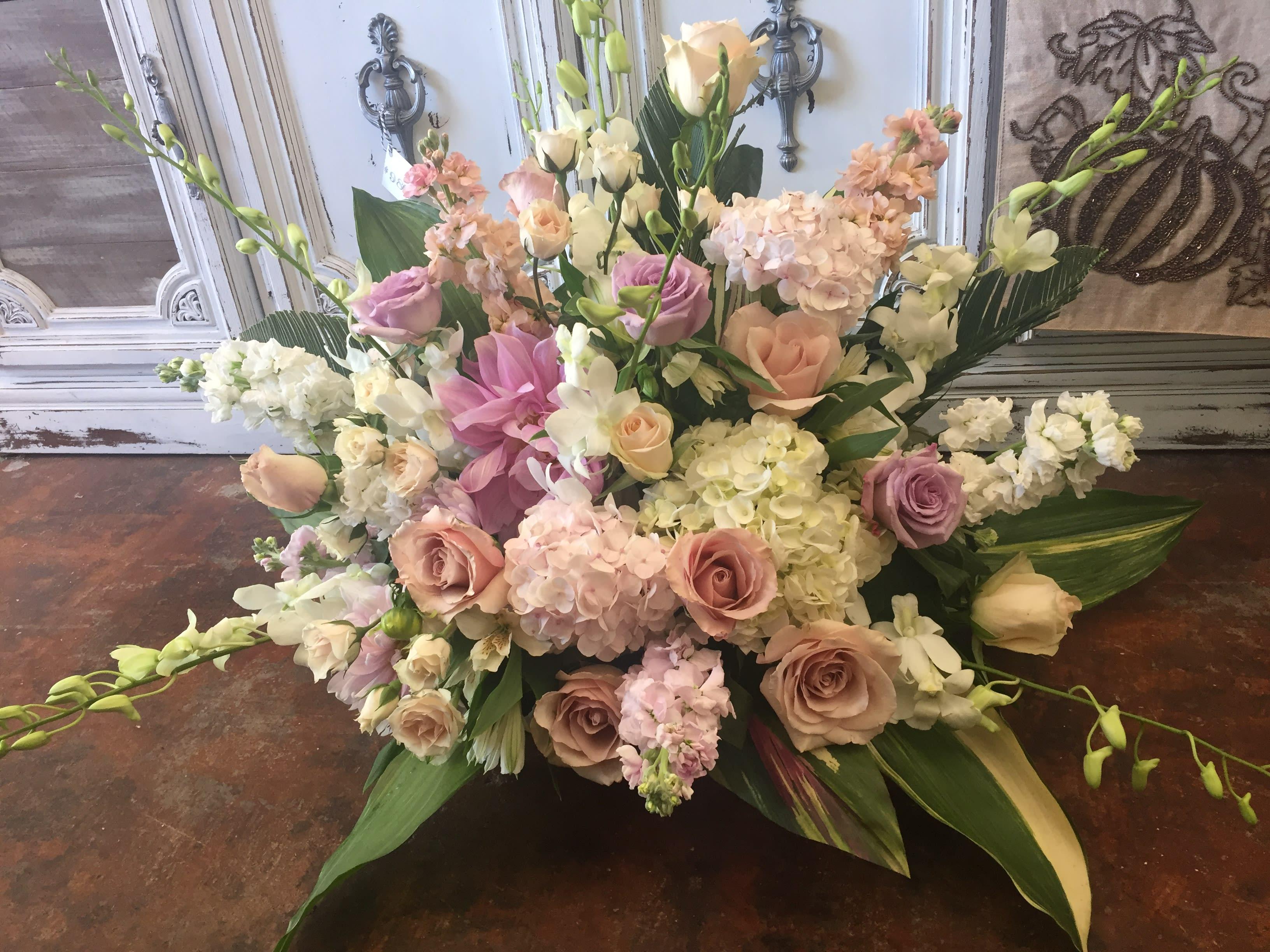 Classic Flower Arrangement By Bella Fiore