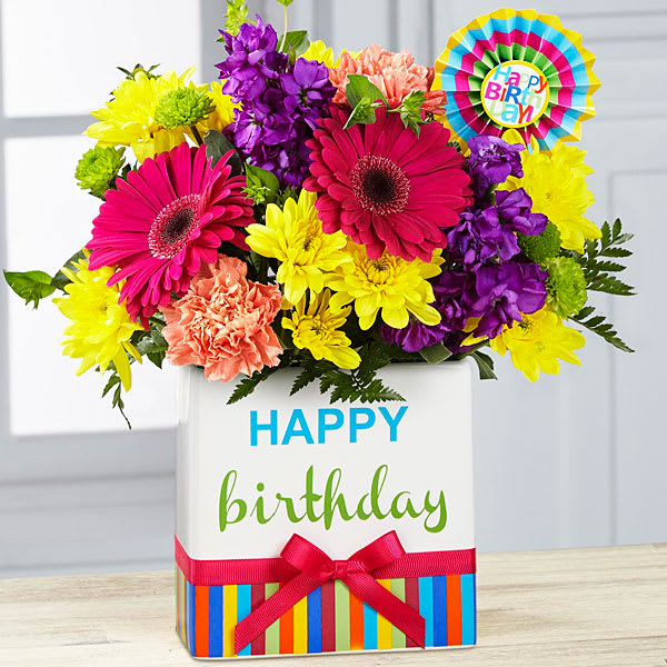 The Ftd Birthday Brights Bouquet In Seattle Wa University Village Florist