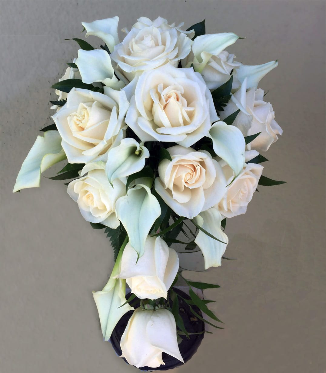 Rose Calla Lily Bouquet In San Jose Ca Valley Florist