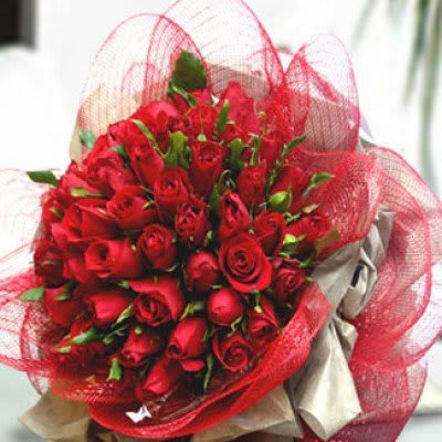 5 Dozen Red Roses Bouquet In Compton Ca Rubi S Flower Shop