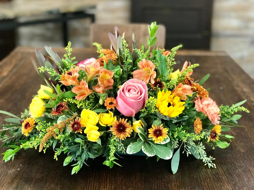 Fall Centerpiece In Shawnee Ok Graves Floral