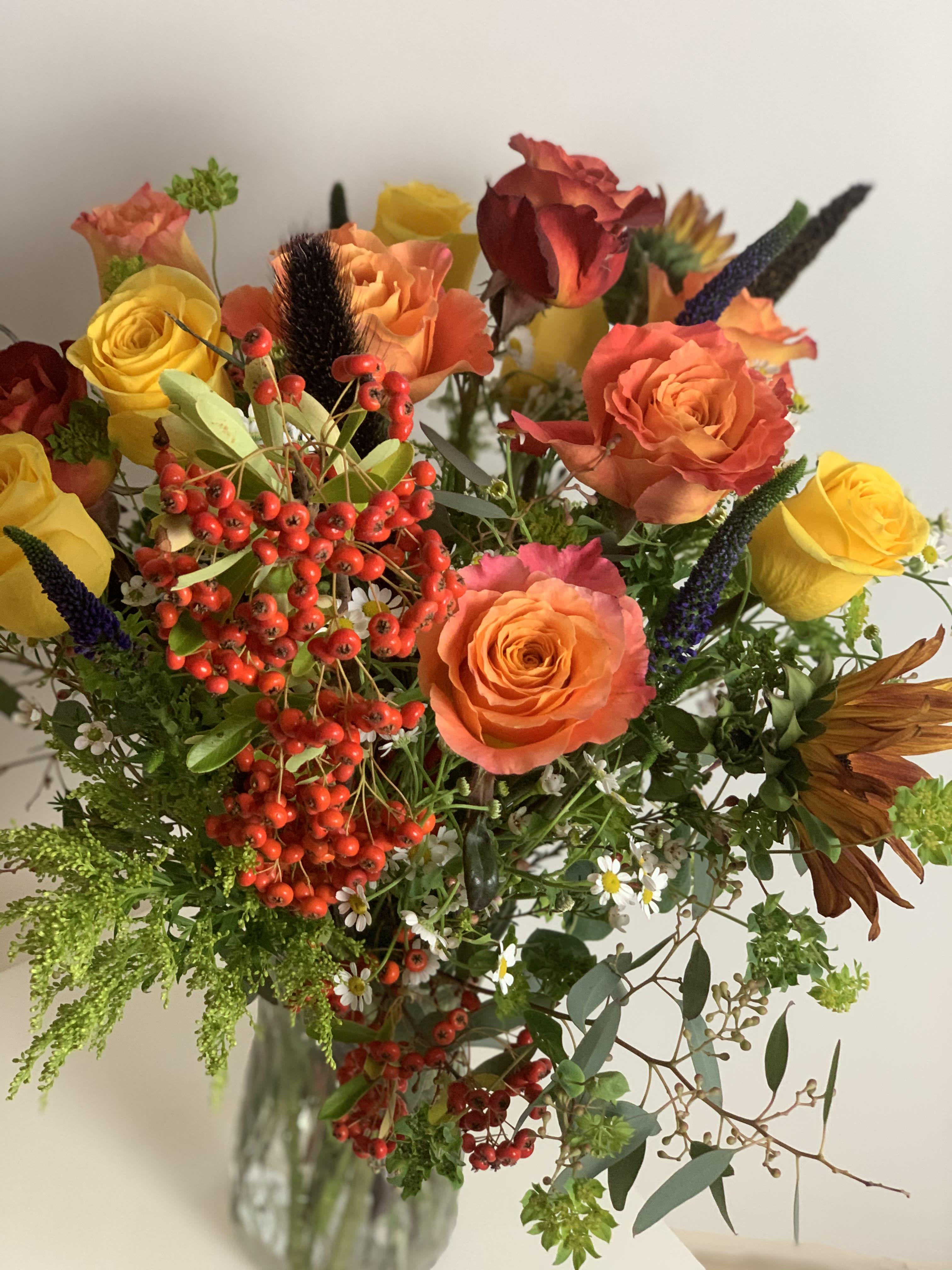 Autumn Bouquet In Ramona Ca I Am Clover