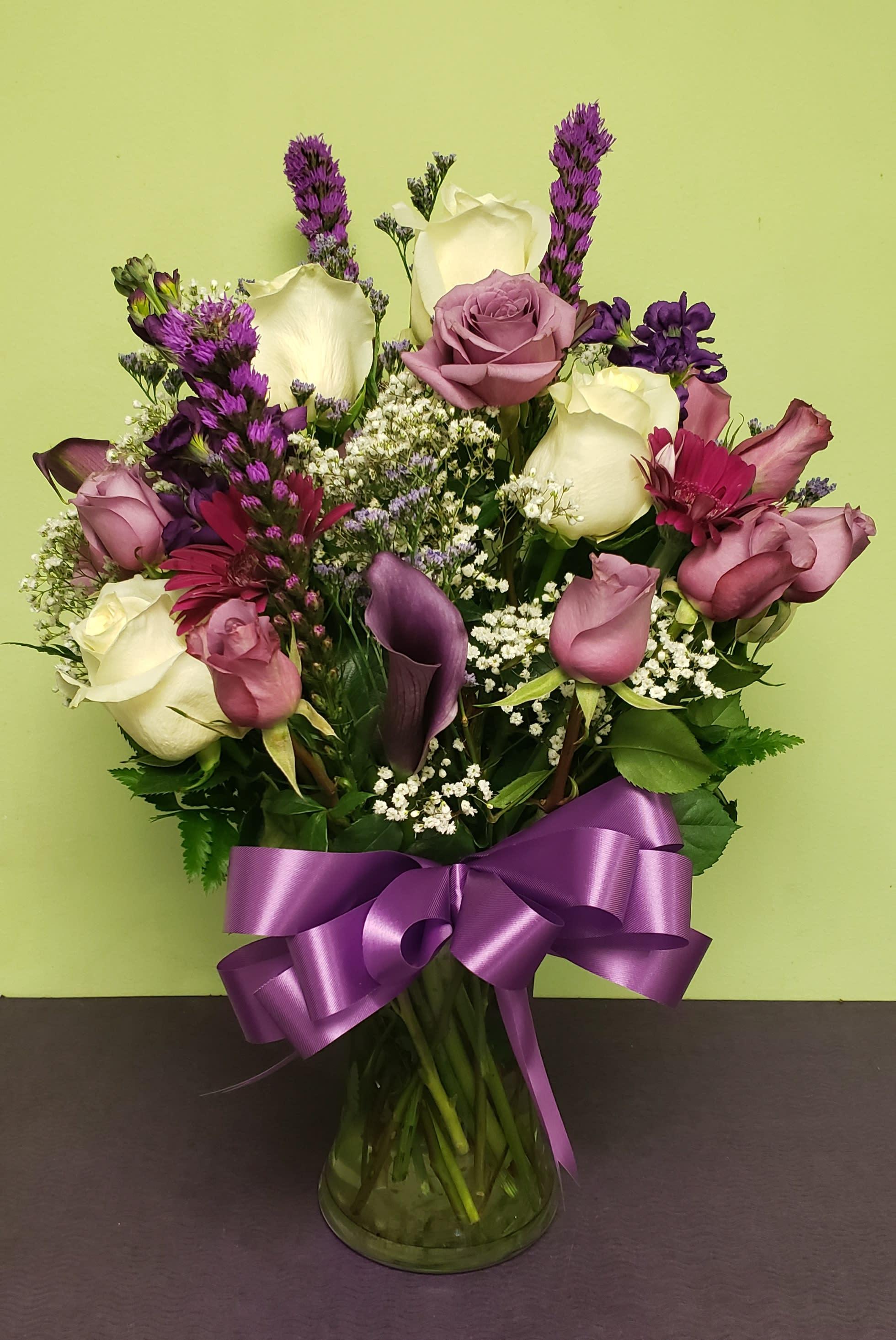 Purple Floral Delight In Philadelphia Pa Philadelphia Flower Market