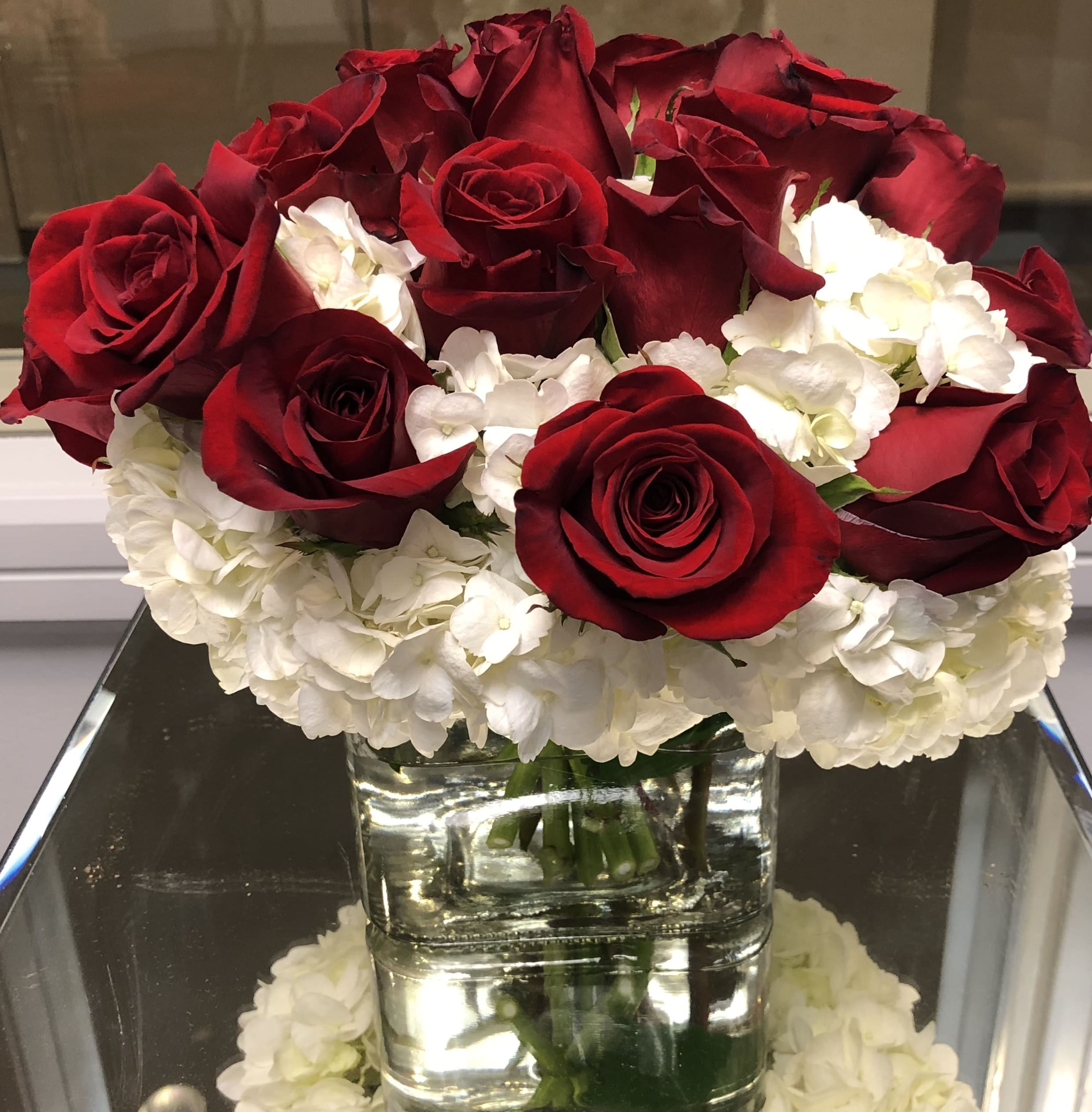 Red Rose Bouquet In Atlanta Ga Northpark Florist