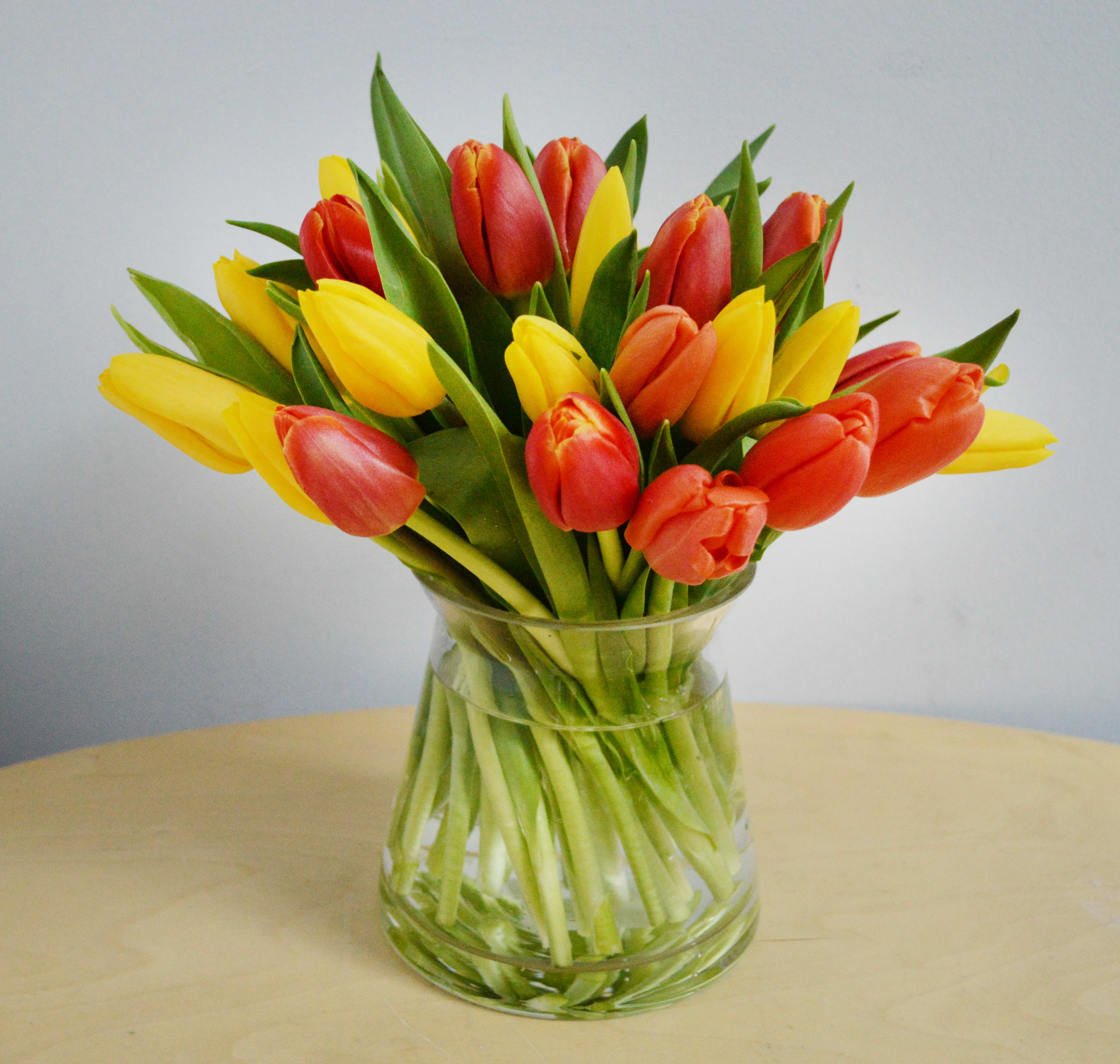 Mixed Tulip Bouquet By Sunny Florists