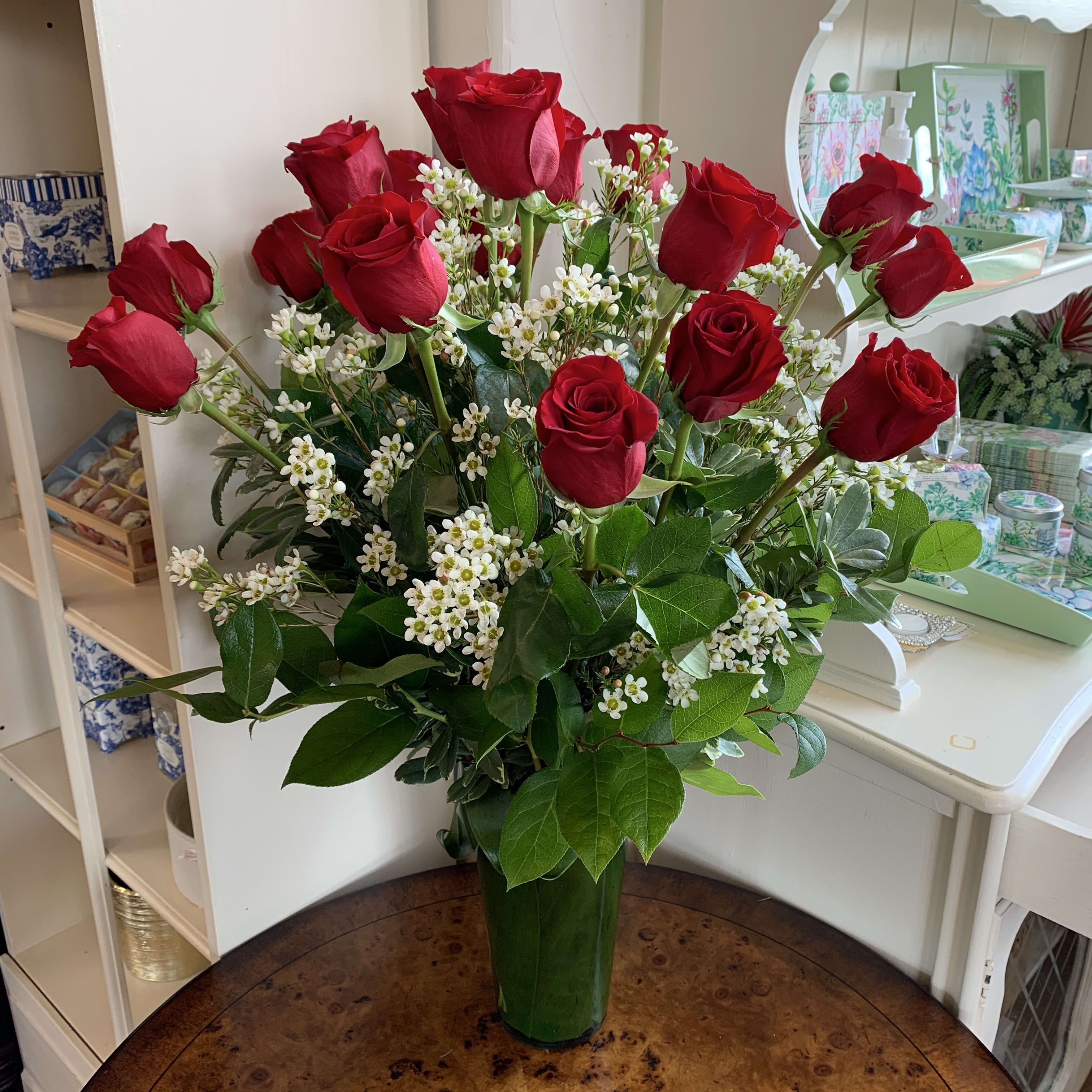 The 18 Red Rose Bouquet In Reno Nv Devonwoods