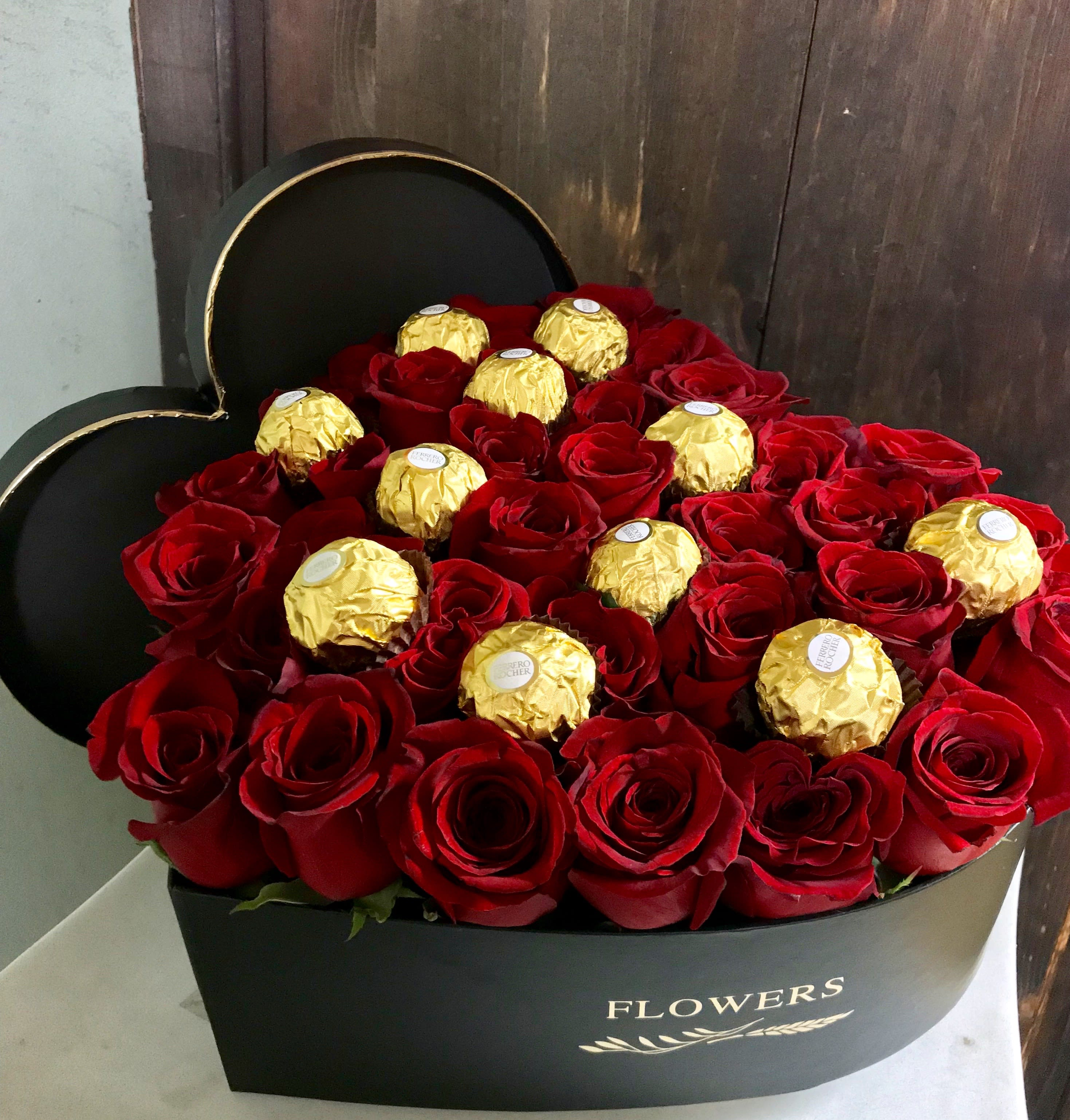 Flower Chocolates-Women's Day